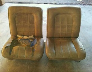 Before Photo EH Holden Seats (3)